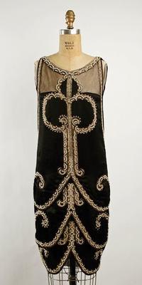 C. Soeurs Evening Dress ca. 1925