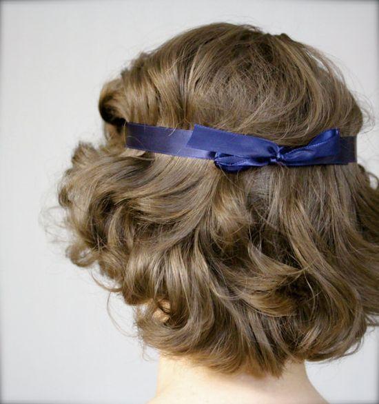 "Art Nouveau Headband ""Josephine"" by ChatterBlossom on Etsy"
