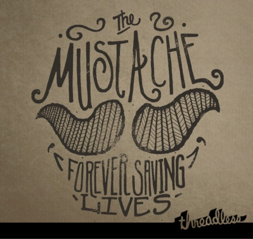 The Mustache #lettering