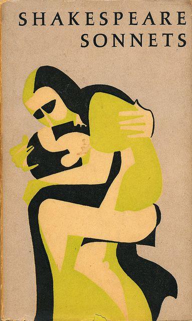 Peter Pauper Press - Shakespeare Sonnets    Shakespeare Sonnets.  Illustrated by Mary Jane Gorton.  The Peter Pauper Press #book #vintage #design #illustration via Scott Lindberg