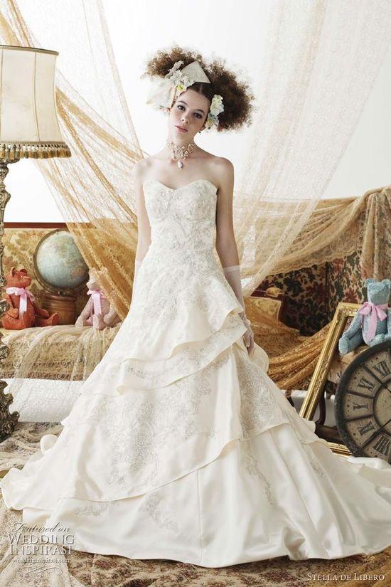 stella de libero wedding dresses - japanese bridal collection