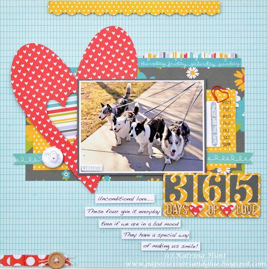 365 Days of Love-Pebbles - Scrapbook.com