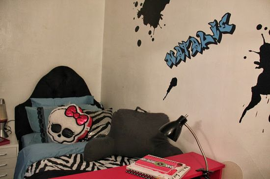 Punk Princess Bedroom Design