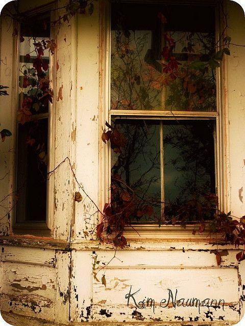 Abandoned Yellow House