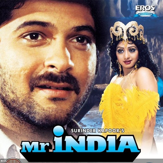 Landmark Films in the last 100 years of Bollywood: Mr. India (1987)