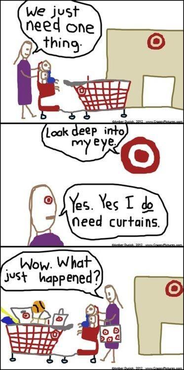 yep...target...happens every time