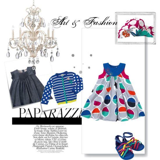Royal Baby Girl Frolic by lizpyo, via Polyvore