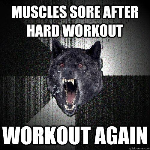 Workout again! hahaha