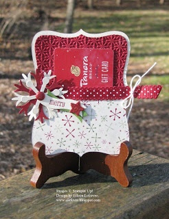 "Eileen's ""Stampin' Fever"" Blog (Gift Card Holder)"
