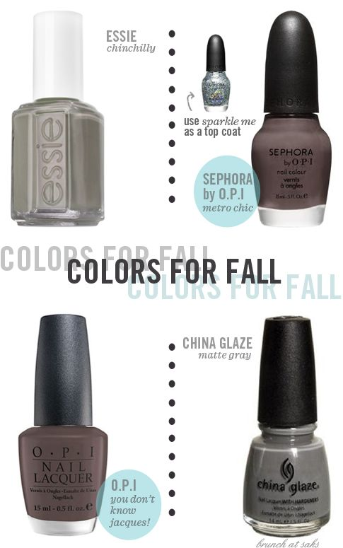 Nail Polish Colors for Fall