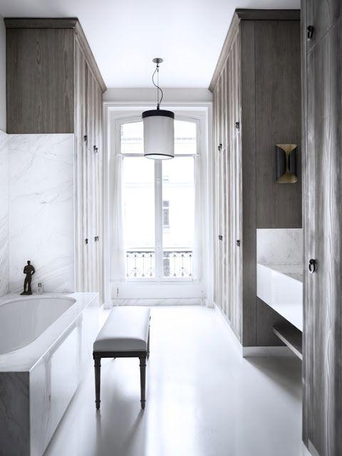 a perfect gray: gray bath