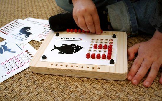 new ABC alphabet children's toy - by E-Glue Studio & Béô Design #children #game #ecodesigntoy