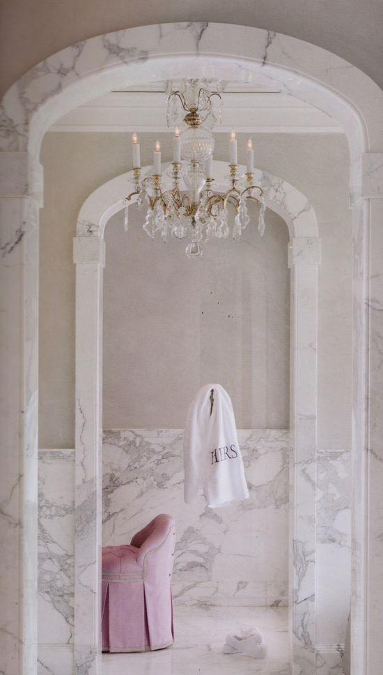 Beautiful marble molding.