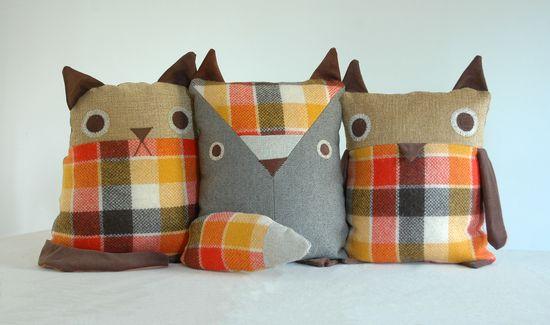 cute cat pillows