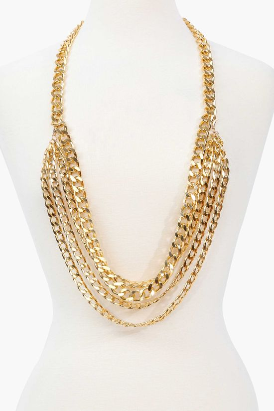 All Gold Necklace.