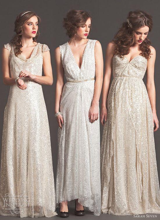 """ Sarah Seven Fall 2013 bridal collection ""robe mariée, wedding dress, mariage, bride"