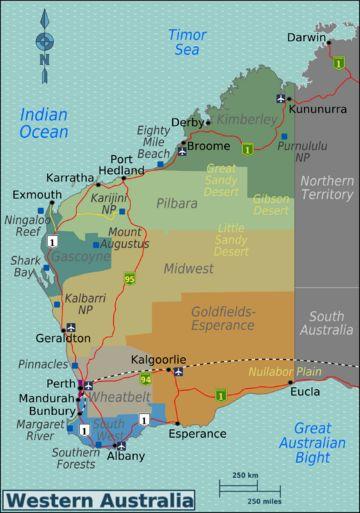 Western Australia travel guide - Wikitravel