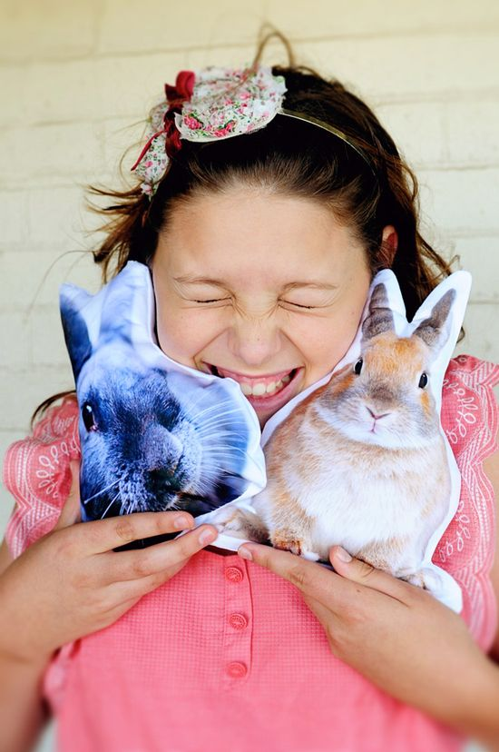 DIY - Photo pillow How To: Picture YOUR pet!
