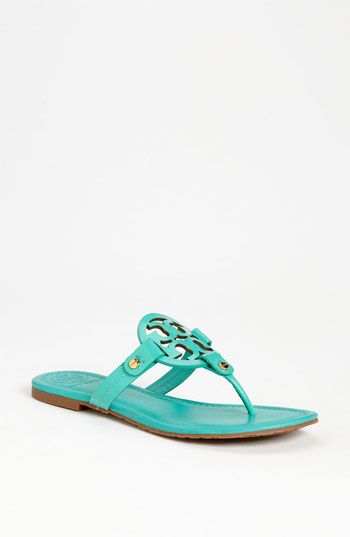 Tory Burch 'Miller' Patent Sandal available at #Nordstrom