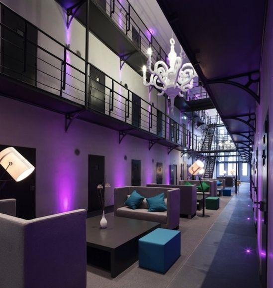 From Dutch prison to luxury hotel