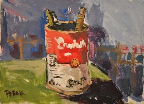 Painting by Russ Potak