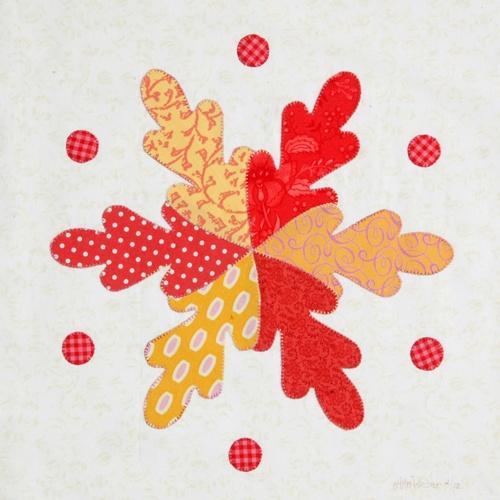 Dancing Leaves by Ann Weber of Gingham Girls: ginghamgirls.biz/...