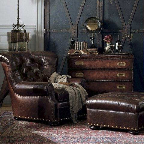 interior by Ralph Lauren.