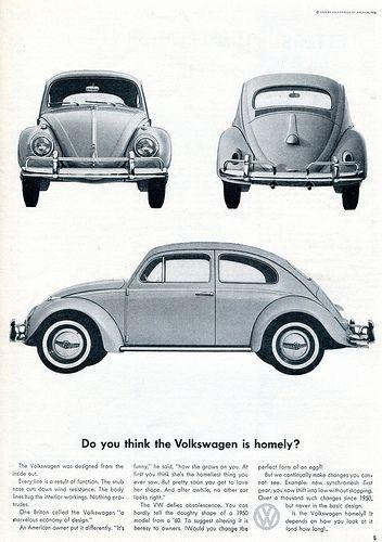 1960 Volkswagen Advertising Sports Car Illustrated November 1960