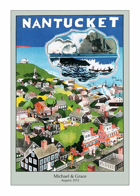 Travel Poster, Nantucket.