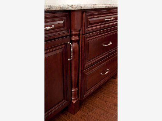 Cherry Cabinets - Home and Garden Design Idea's