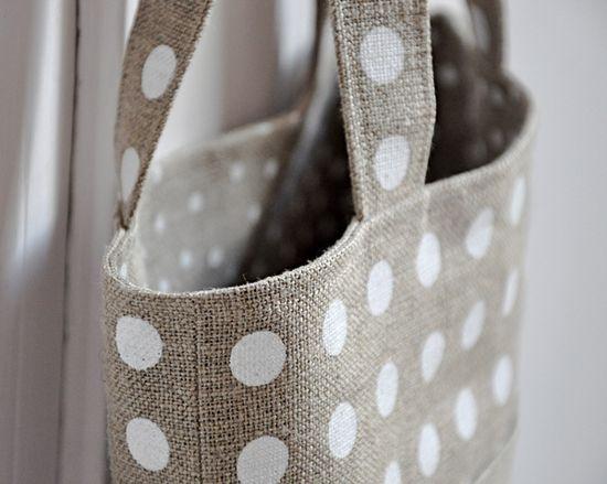 darling linen bag