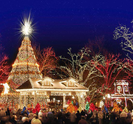 Christmas at Silver Dollar City. Branson, MO