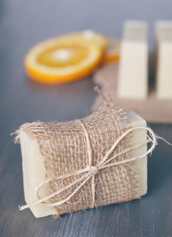 Orange + Tea Tree handmade soap - offbeat + inspired