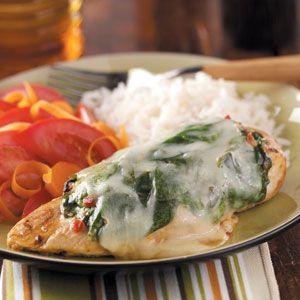 Savory Spinach Chicken Recipe