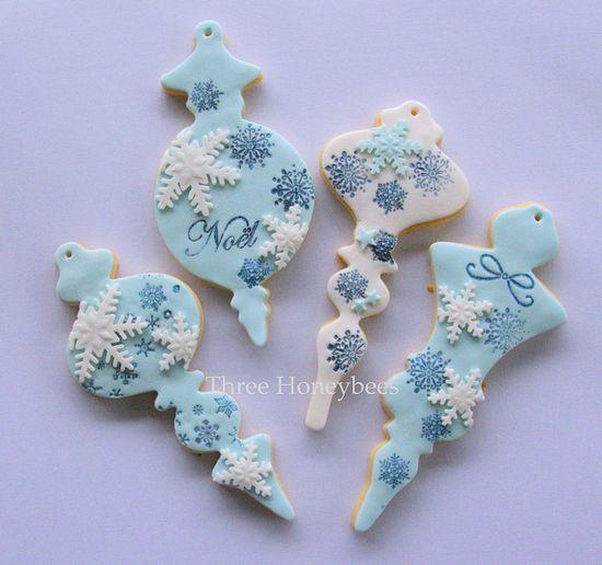 Blue Xmas Cookies