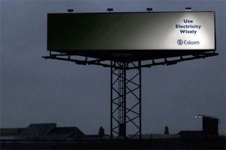 Creative billboard. Simple and clever.