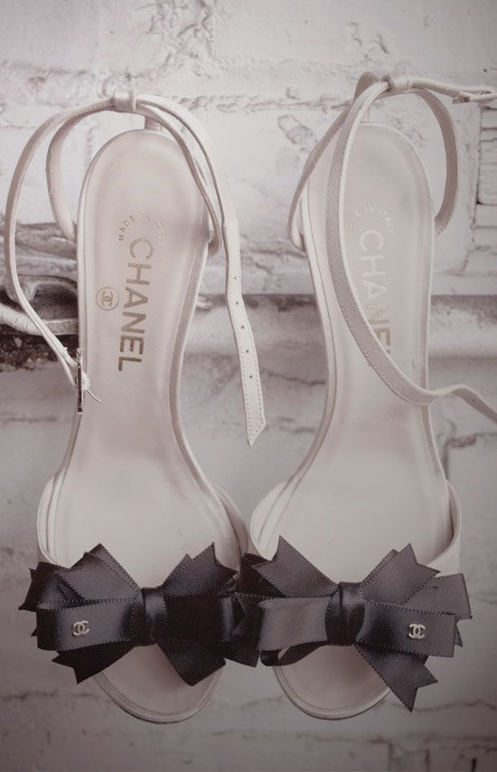 Chanel shoes...