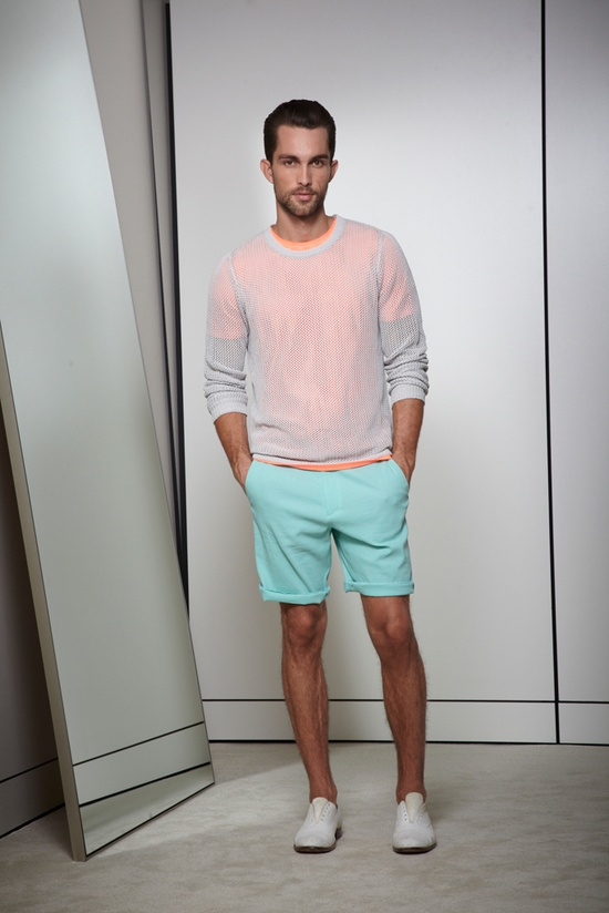 Elie Tahari Spring 2013 Menswear Collection Slideshow on Style.com