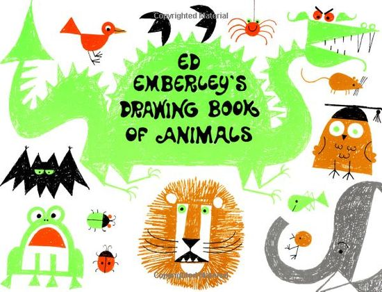 Ed Emberley's Drawing Book of Animal #Book #Kids #Drawing