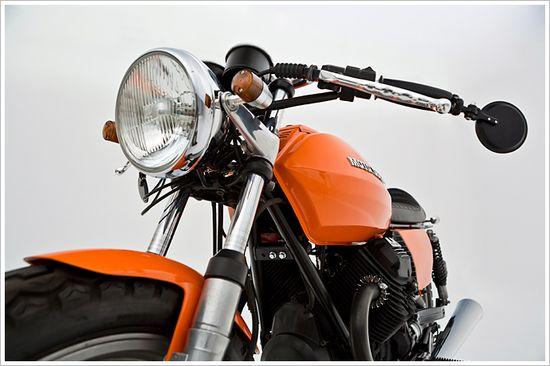 '82 Moto Guzzi V50 -Ellaspede