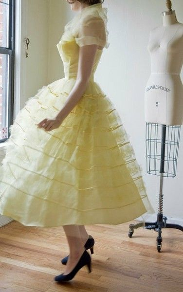 50s milk & honey dress