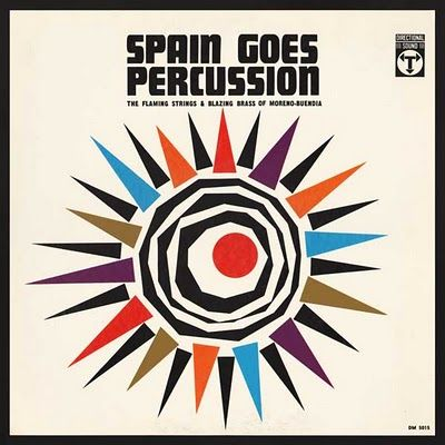 Spain Goes Percussion (Directional Sound): Project 33  #graphic  #design  #albumcover  #album