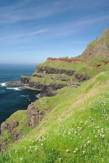 See the picz: Giants Causeway, Northern Ireland.