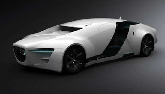 Honda 'Zeppelin' Luxury Sports Car for 2030 trendhunter.com