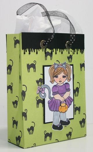Hand-made gift Bag - Jane Bosi -- Great Gifts CD
