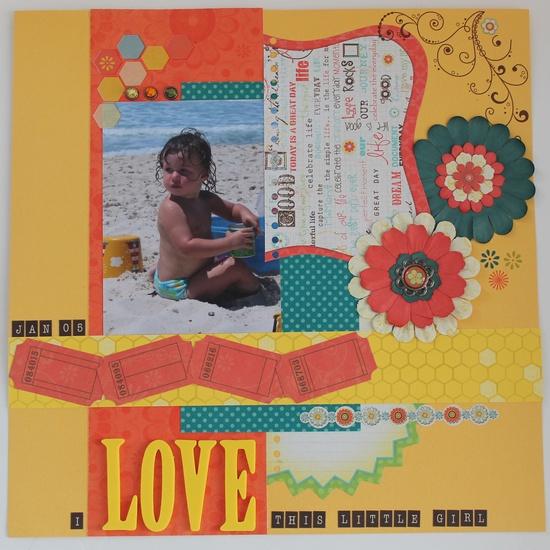 I LOVE THIS LITTLE GIRL - Scrapbook.com
