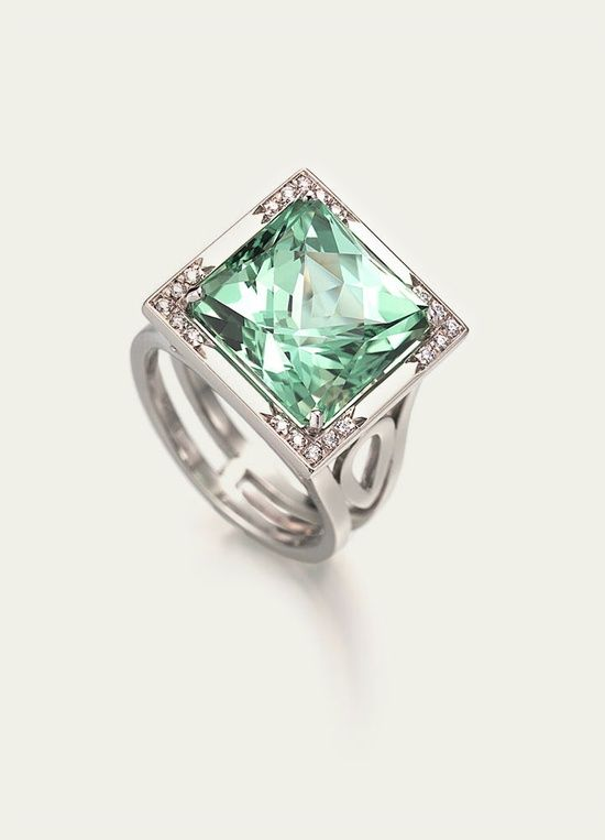 Mint Green Tourmaline #Green Collections
