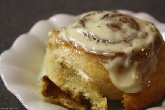 Fastest Cinnamon Rolls by dontforgetdelicious as adapted from FineCooking: No proofing, no rising, no waiting. #Cinnamon_Rolls