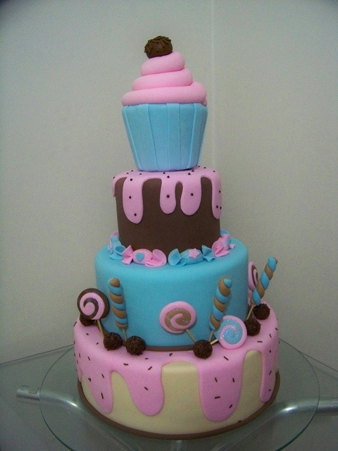 Candy cake, great colors
