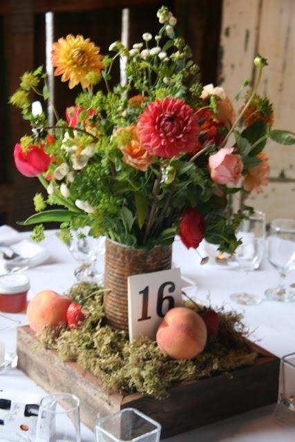 Centerpiece for wedding reception